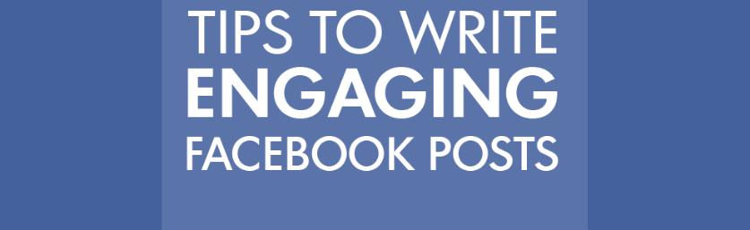 10 conseils pour rédiger des publications plus engageantes sur Facebook – Markentive