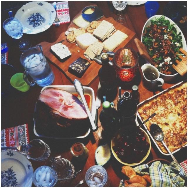 A Denver Home Companion | traditional ham christmas lunch