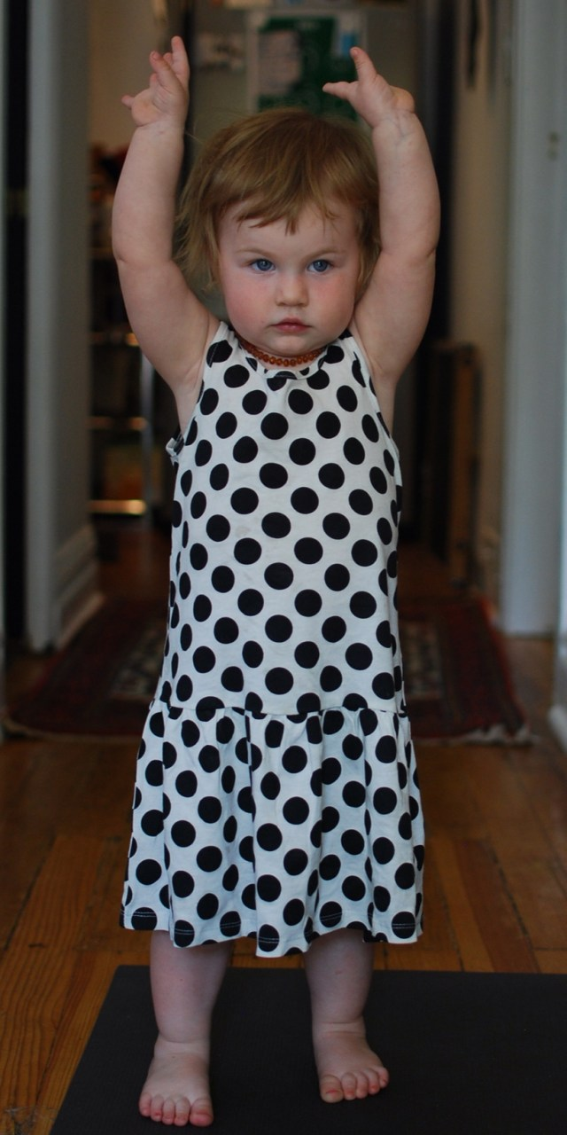 A Denver Home Companion | toddler yoga