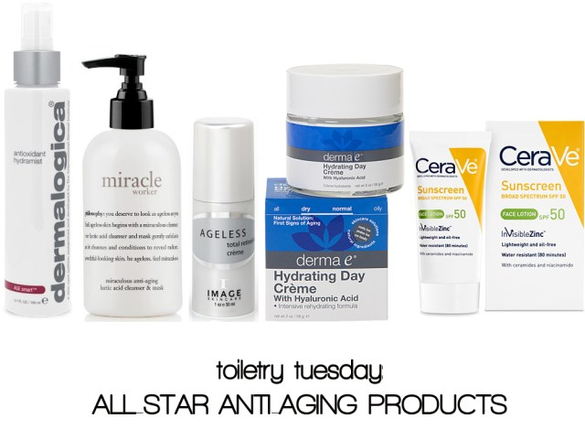 A Denver Home Companion | toiiletry tuesday anti aging products