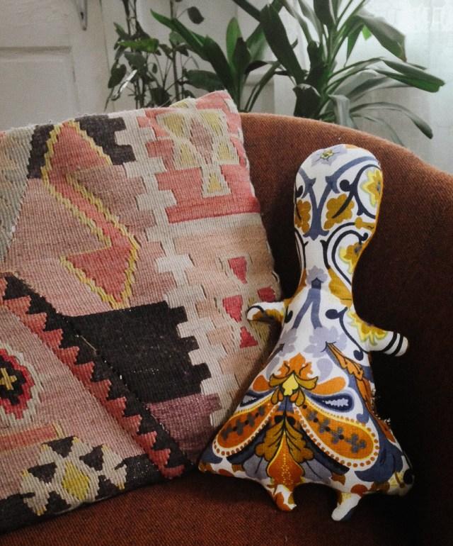 A Denver Home Companion | DIY vintage fabric doll