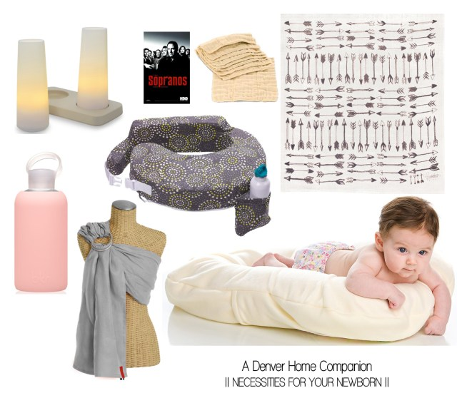 A Denver Home Companion | necessities for your newborn