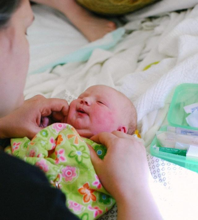 A Denver Home Companion | Harriet's Birth Story