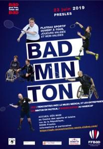 Ile-de-France - Badminton @ Presles | Presles | Île-de-France | France