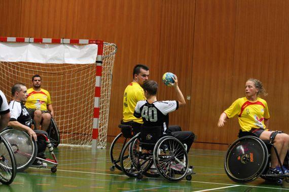 Grand-Est – Découverte Handball fauteuil