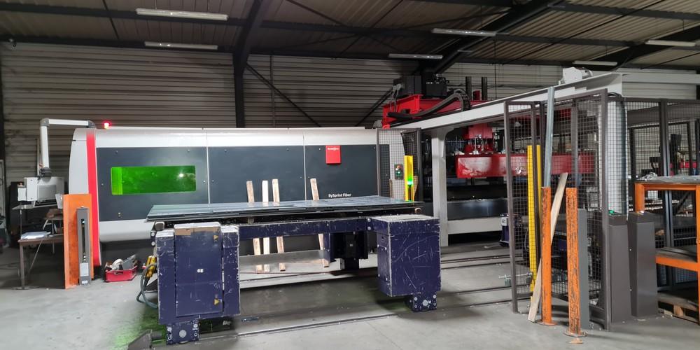 Ades laser machine de découpe plasma 1000-500