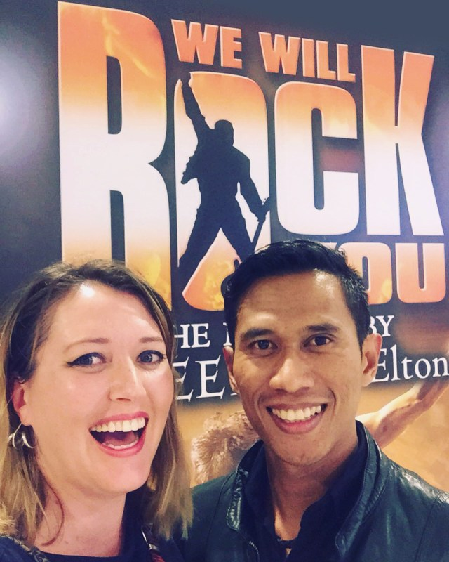 Date night at We Will Rock You Sydney #WWRYAU