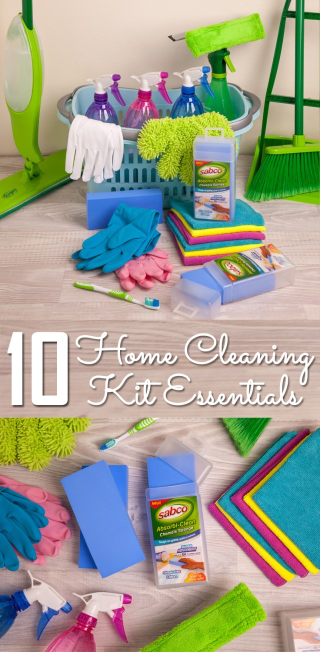 10 home cleaning kit essentials