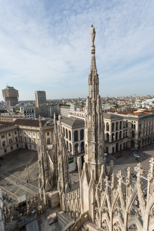 Duomo di Milano took nearly six centuries to complete 1386-1965 | The Ultimate Guide to Milan Design Week | Lexus Design Award 2017