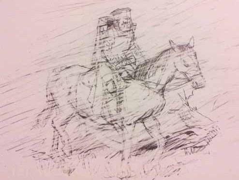 Sir Gawain's winter journey