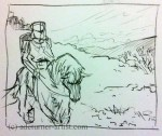 Sir Gawain journey start panel