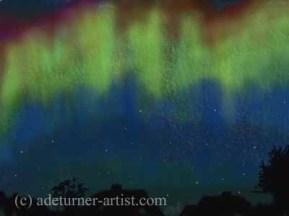 Aurora Procreate digital sketch