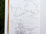 Penciul sketches of Colmer's Hill