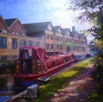 Narrowboat by Joules' Brewery
