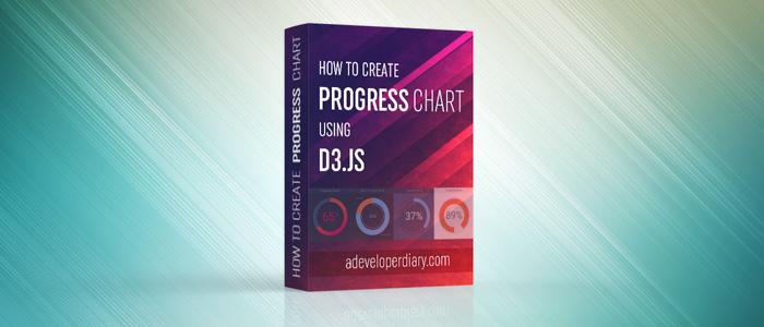 How to create Progress chart using d3.js