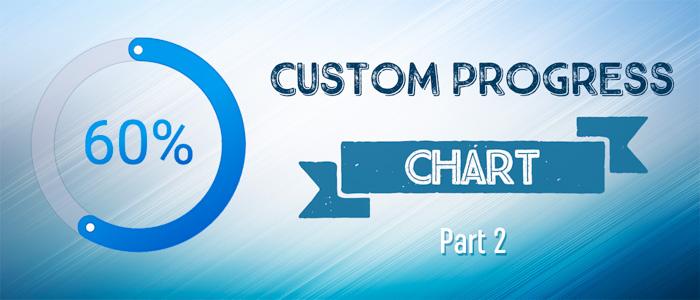 Create custom progress chart using d3 js - Part2 - A