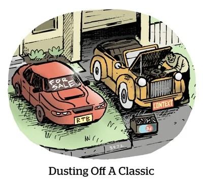Comic: Dusting off a classic