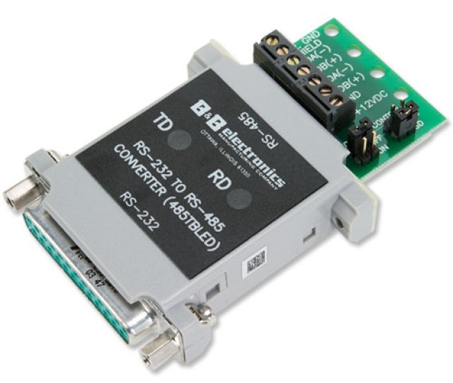 Converter With Leds Rs 232 To Rs 485