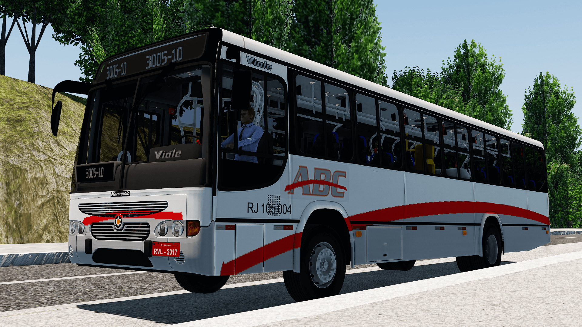 Proton Bus Simulator: Mod Marcopolo Viale OF-1722M – Galo Branco (Download)