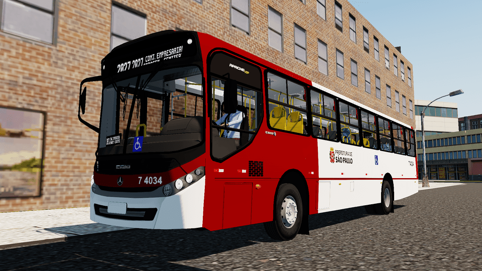 Mod do Caio Apache Vip III OF-1721 BT5 (SJC) para Proton Bus Simulator