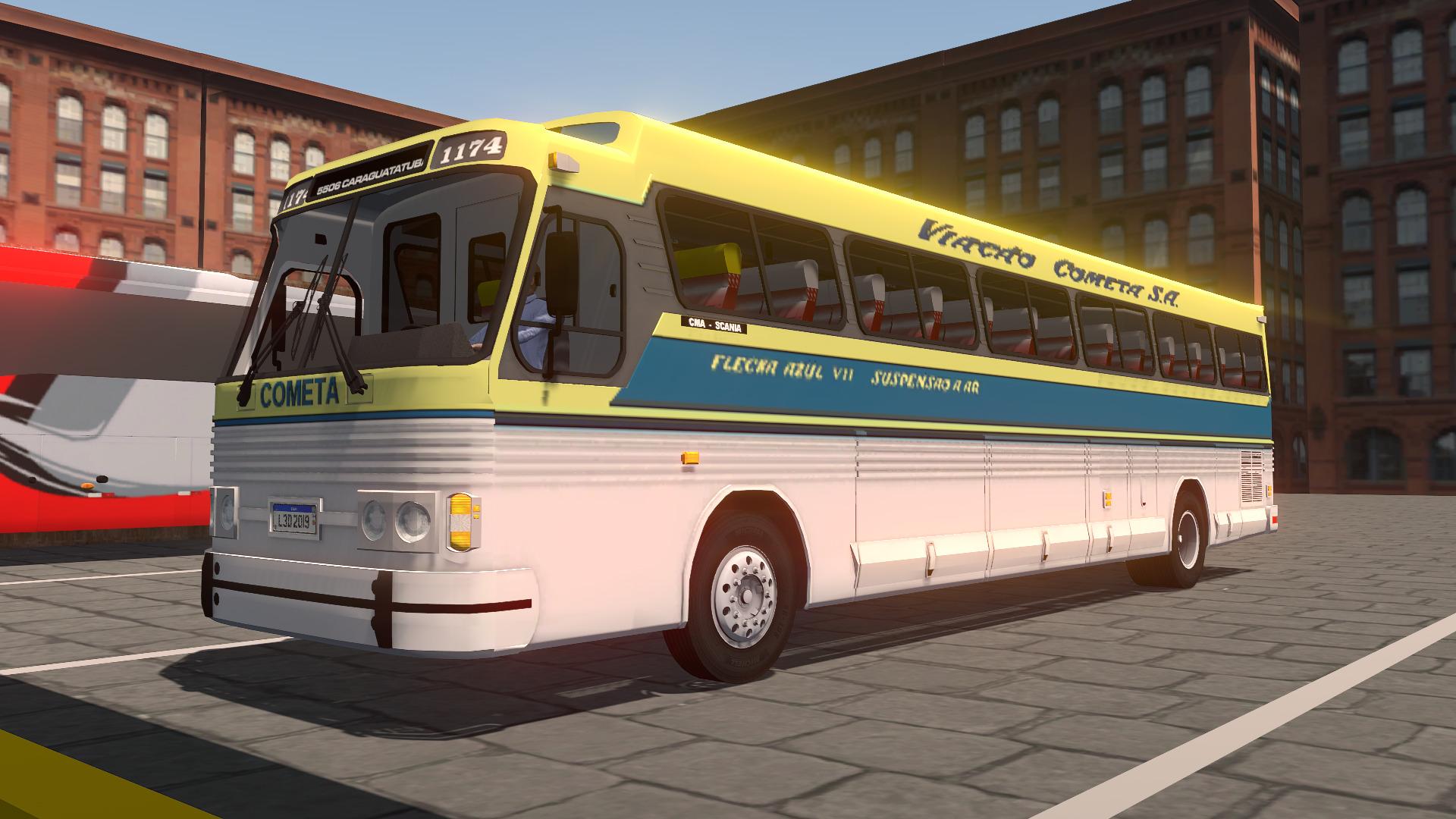 Mod do CMA Flecha VII para Proton Bus Simulator/Road