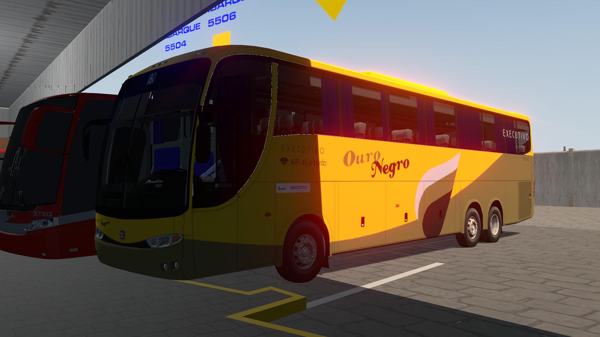 Mod do Marcopolo Paradiso G6 1200 O400RSD para Proton Bus Simulator/Road