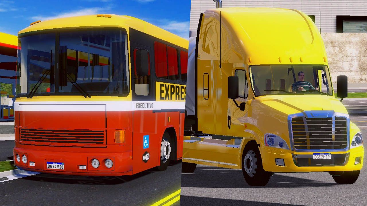 Novo caminhão para World Truck Driving Simulator gera polêmica, e novos ônibus estão chegando ao World Bus Driving