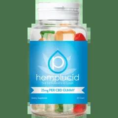 Hemplucid all natural full spectrum gummies