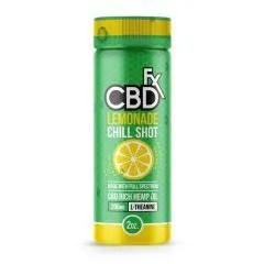 cbdfx lemonade chill shot