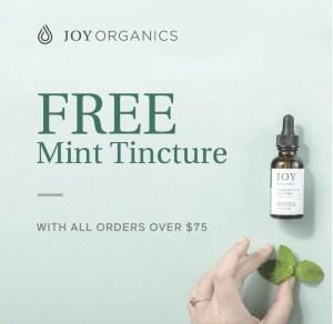 Joy Organics October