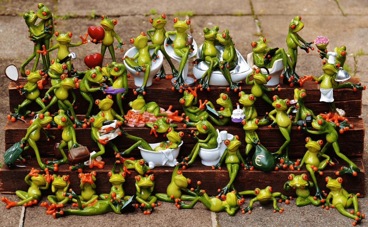kikker verzamelingen