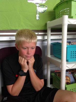 Ski Racer shares his ADHD Story #ADHDKidsRock