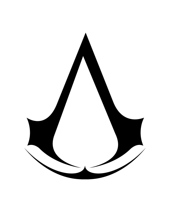 Pegatina Assassin's Creed Logo - adhesivosNatos