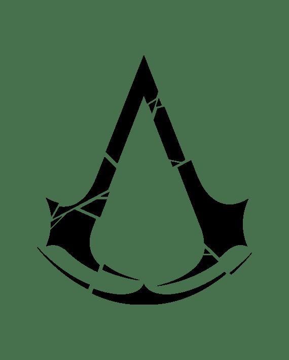 Pegatina Assassin's Creed Rogue Crest - adhesivosNatos