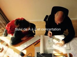 Suivi de A à Z et concertation