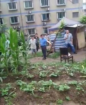 重庆八桥镇互助村政府4年来派人日以继夜监控村内最少3名村民,推算政府花费上千万。(互助村村民独家提供,拍摄日期不详)
