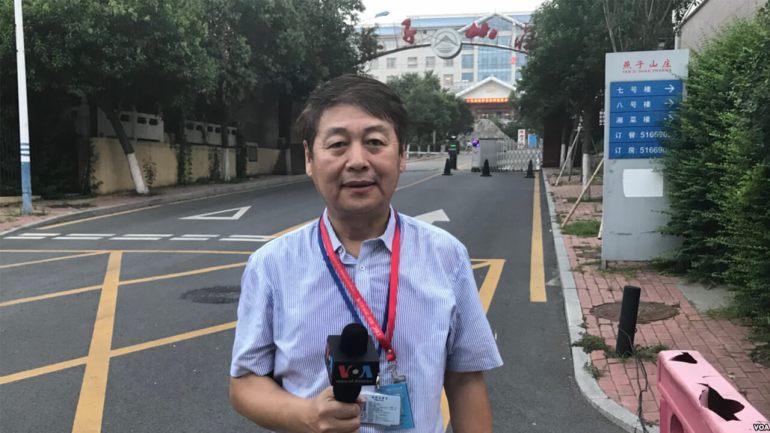 美國之音駐北京記者葉兵
