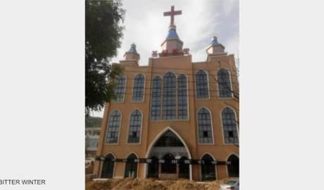 教堂被封锁