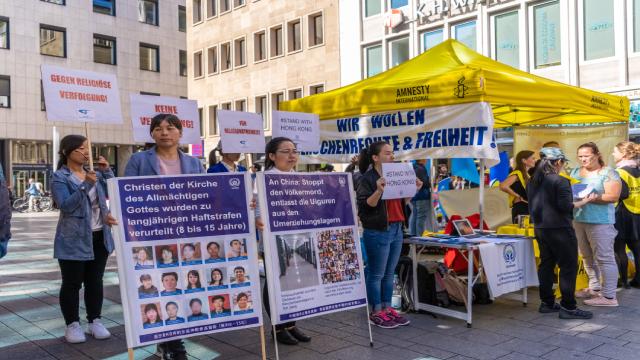 全能神教会基督徒呼吁中共停止对基督徒以及维吾尔人的迫害