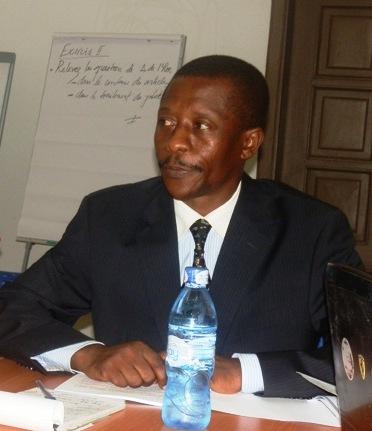 le président de l'Asadho, Jean-Claude Katende/Photo Adiac.