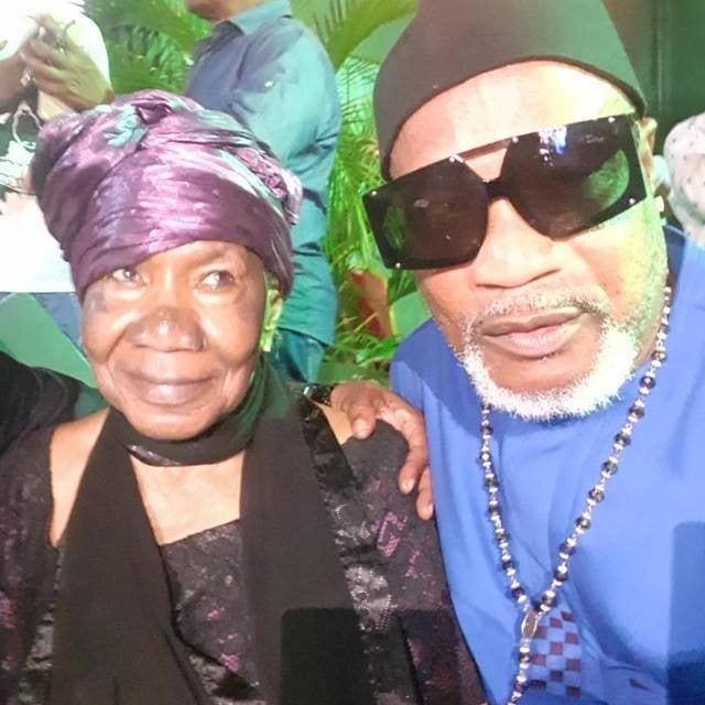 Maman Amy et Koffi Olomide (DR)