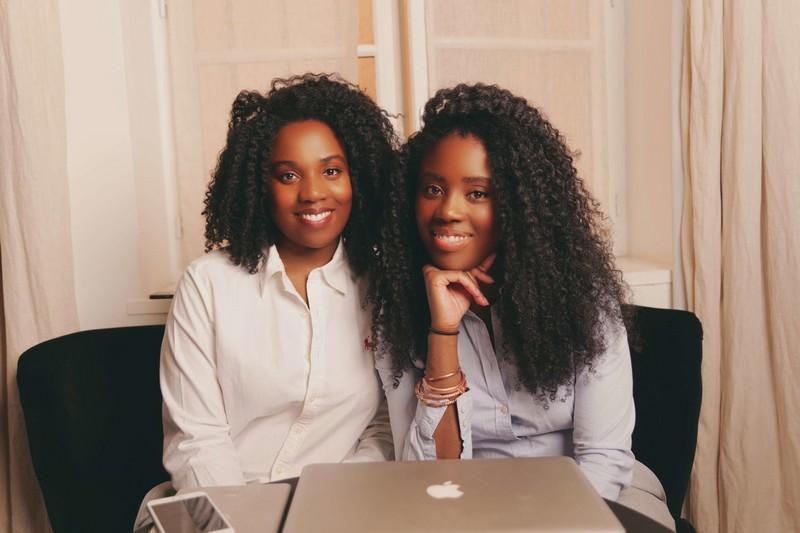 Equipe-projet de Elle Ebène, lauréate du Concours Lyon Start Up 2020 en France