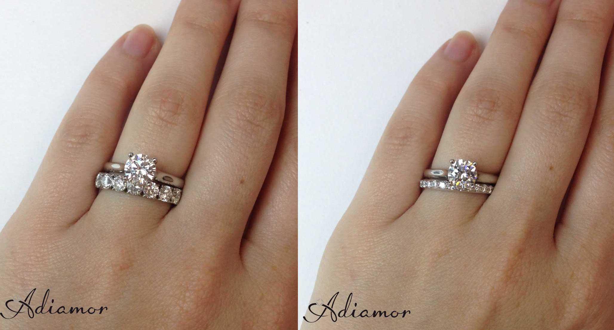 How To Wear Wedding Rings.How Do People Like To Wear Wedding Bands Adiamor