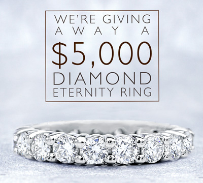 Adiamor Diamond Eternity Band Sweepstakes