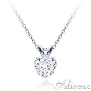 Diamond-Heart-Solitaire-Pendant