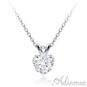 Diamond-Heart-Solitaire-Pendant