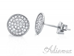 Diamond-Pave-Disc-Earrings