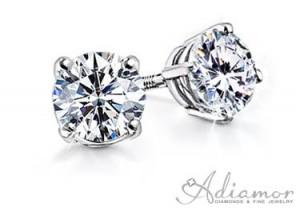 Round-Diamond-Stud-Earrings