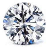 one carat round diamond