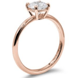 18k rose gold Basket Solitaire Setting